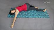 How to do Supta Matsyendrasana - Supine Spinal Twist - Beginners Yoga