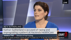 Jessica Thill tracks trials on Court TV