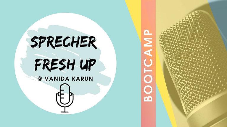 Teilnehmerstimmen Sprecher Fresh Up Bootcamp- Workshop fuer Mediensprecher