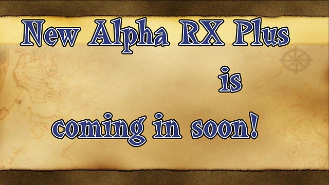 Alpha RX Plus coming soon