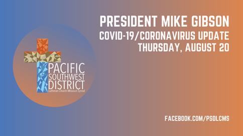 President Gibson Live 8/20/2020
