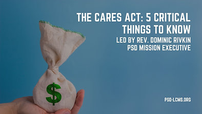 The CARES Act: 5 Critical Things to Know