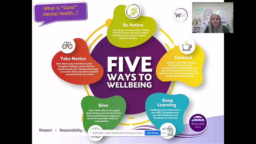 1st Feb Mental Health & Wellbeing
