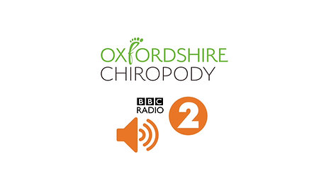 Oxfordshire Chiropody on BBC Radio 2