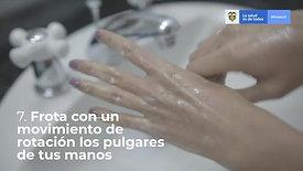 Lavado de manos con locución - MinSalud