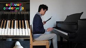 Meester Hanquin Zhou pianoles 2