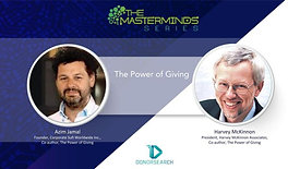 The Power of Giving with Azim Jamal and Harvey McKinnon