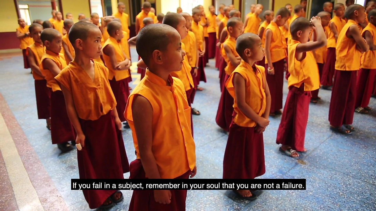 Pema Ts'al Monastery in Pokhara, Nepal