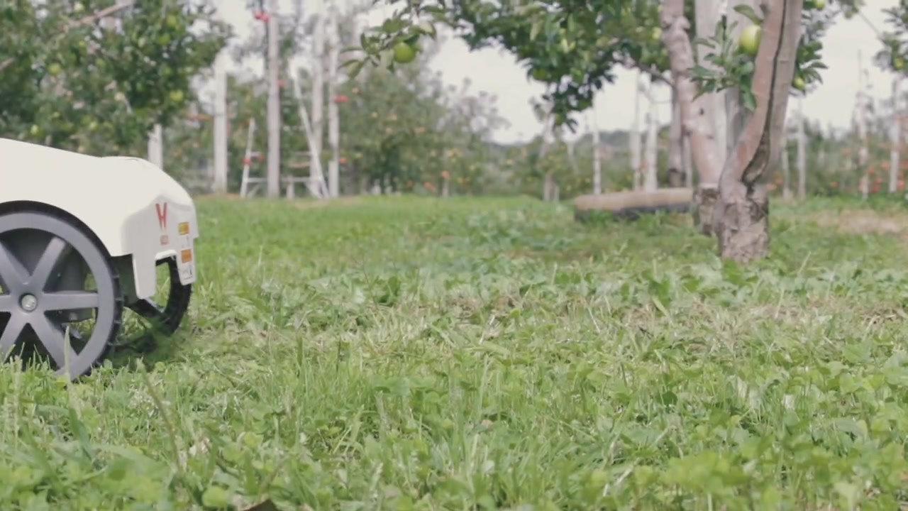 ロボット草刈り機 高い走破性