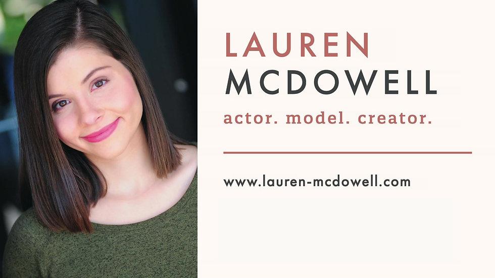 Lauren McDowell Reel