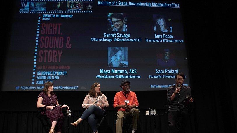 Anatomy of a Scene: Deconstructing Documentary Films - 2017