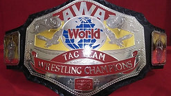 AWA World Tag Team Wrestling Championship Belt