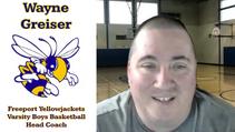 WPIAL Playoff Preview: Freeport Yellowjackets Boys Basketball Head Coach Wayne Greiser