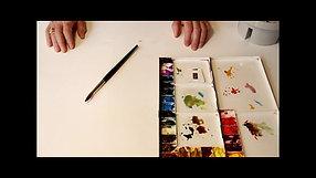 Watercolor Tutorial: White Paper
