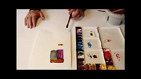 Watercolor Tutorial: Edges