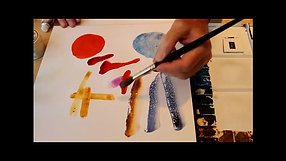 Watercolor Tutorial: Brushstrokes