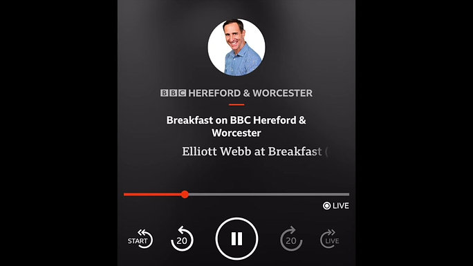 BBC Hereford and Worcester Interview