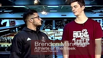 Athlete of the Week - Brendon Manning