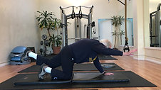 88 year old Howard doing Bird Dogs for core strength