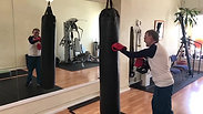 86 year old Ron Boxing