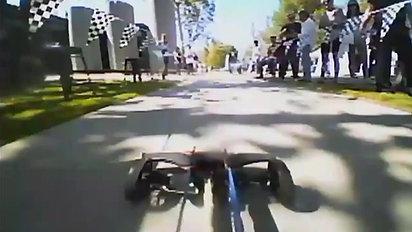 Drag final race