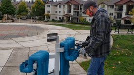 Tualatin Valley Creates Music Benches Installations, Oregon 2020