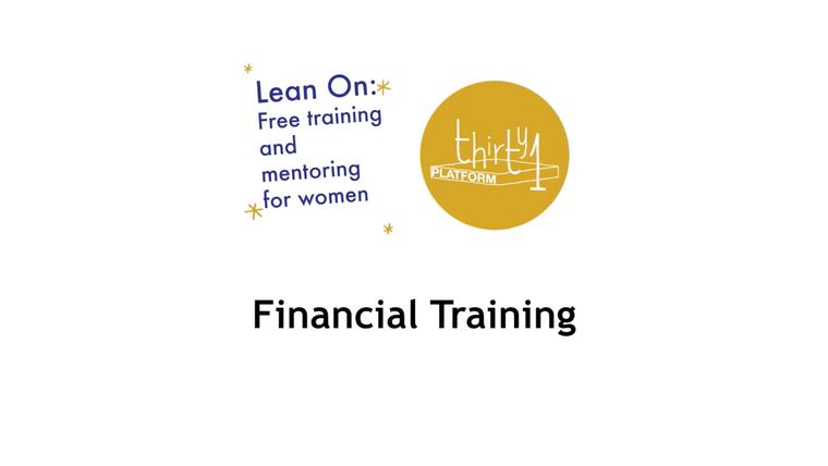 Lean On Finance Training