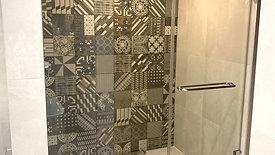 Glass shower transformation
