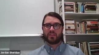 Dr. Sheridan (Ph.D. in English Literature from McMaster University, Adjunct Professor of NYU)