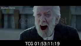 Hunger Games - Snow Execution