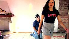 Behind The Scenes: Elena's Teach Me How To Kick