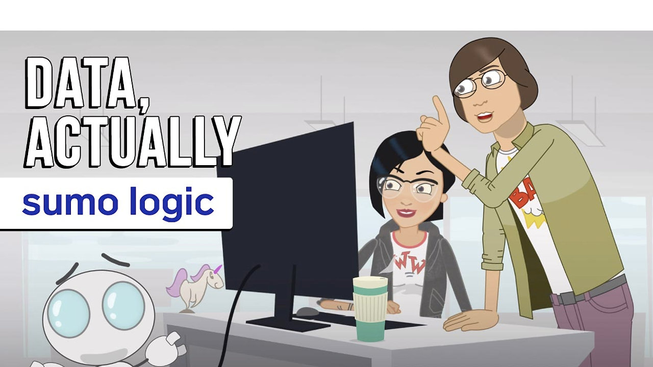 Data, actually –Sumo Logic   Animated Commercial, Explainer Video