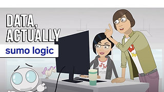 Data, actually –Sumo Logic | Animated Commercial, Explainer Video