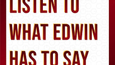 Listen to what Edwin has to say