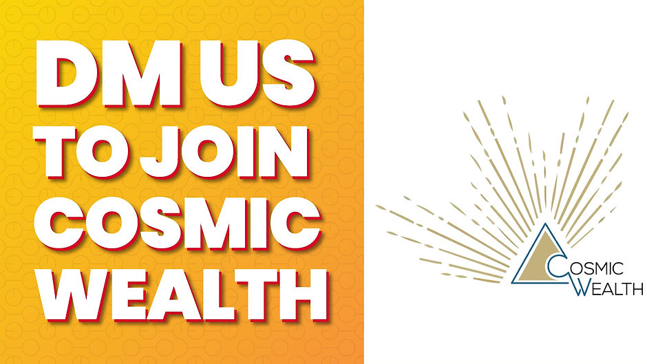 Kick start your journey towards financial Independence with Cosmic Wealth
