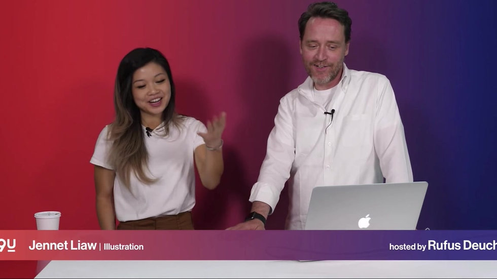 LIVE FROM THE ADOBE 99U CONFERENCE WITH JENNET LIAW AND HOST RUFUS DEUCHLER