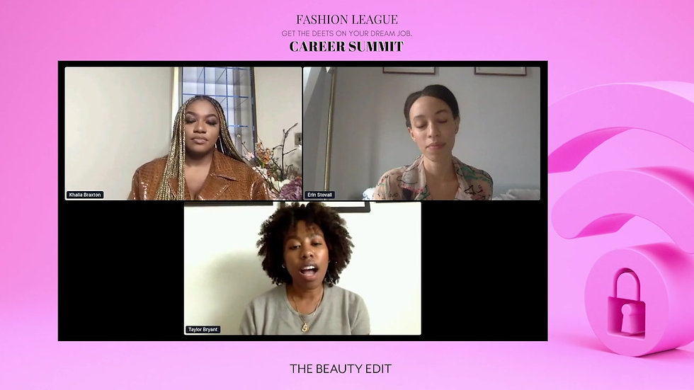 The Beauty Edit – Fashion League Career Summit