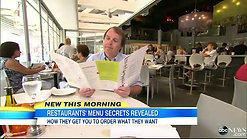 Gregg Rapp, Menu Engineer ABC News - Restaurant Secrets, How Menus Are Designed to Influence Your Order