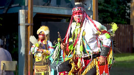 Many Nations Dance Troupe at Ness Creek