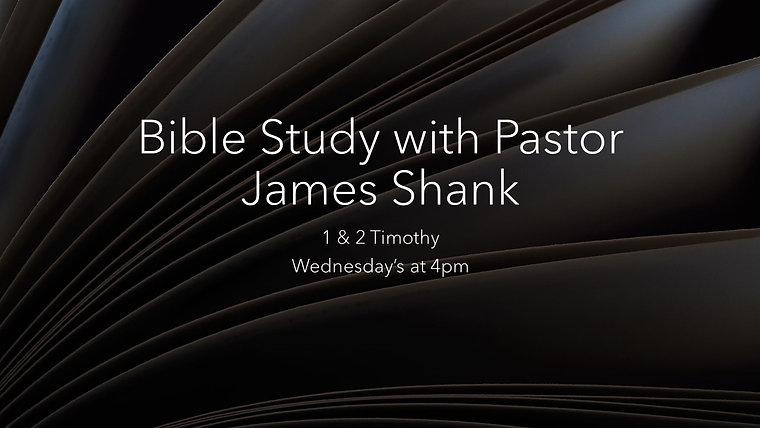 1 & 2 Timothy Bible Study