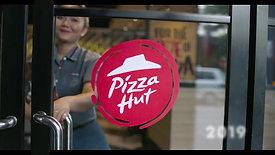 Pizza Hut 35 th