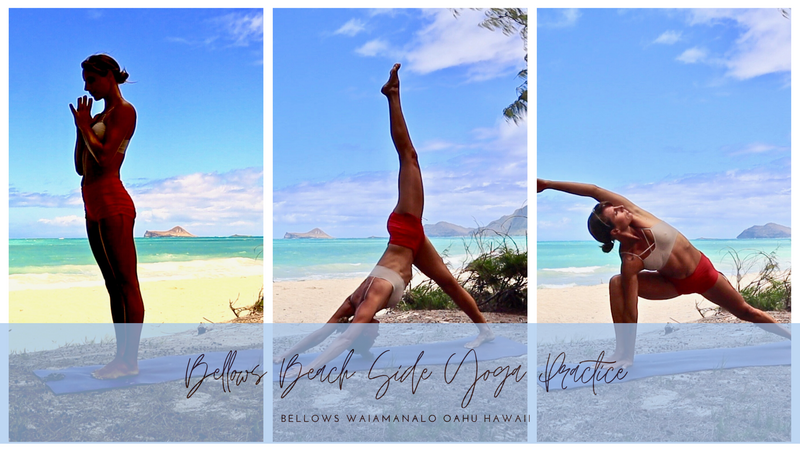 Beach Side Hatha/Vinyasa Practice