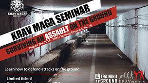 KRAV MAGA BANGKOK SEMINAR_ Surviving an attack on the ground