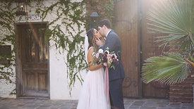 The Goodrow's Wedding at The Villa San Juan Capistrano
