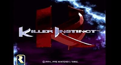 Ecran Titre Killer Instinct