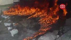 立大消防設備-滅火實測