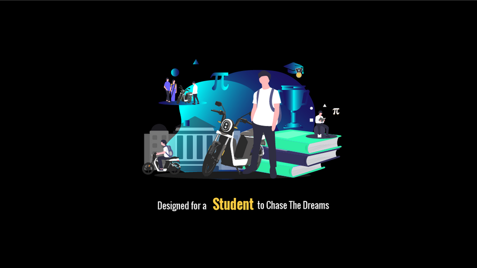 A STUDENT, CHASE YOUR DREAM