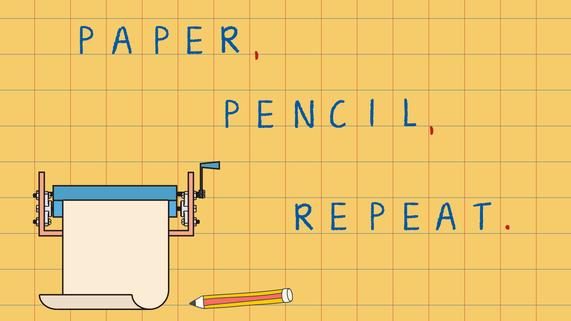 pencil presentation