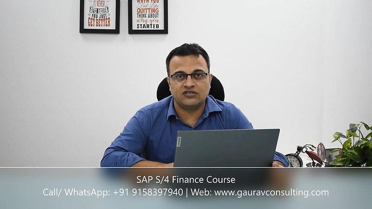 Financial Accounting in SAP S/4 HANA 2020