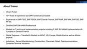 1 FI SAP S4 HANA Basics